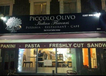 Beautiful Pizzas from Piccolo Olivo, Caledonian Road 11