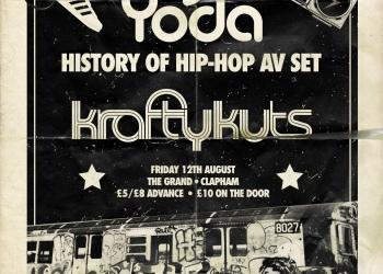Being Grand in Clapham - DJ Yoda and £1 Cinema Club 4